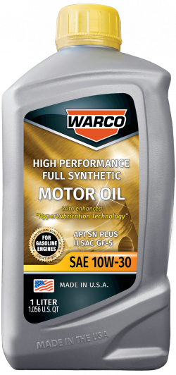 WARCO 10W-30 Full Synthetic Motor Oil
