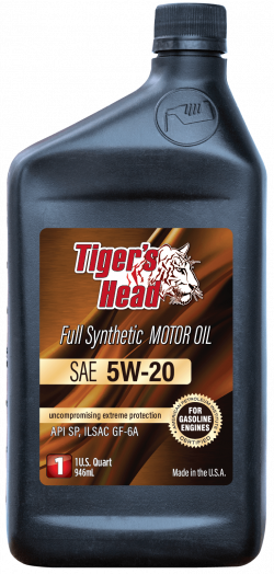 Tiger's 5W-20 Head Full Synthetic Motor Oil