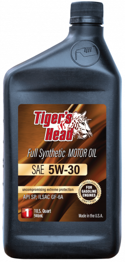 Tiger's 5W-30 Head Full Synthetic Motor Oil