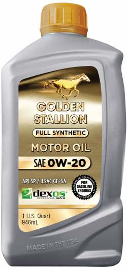 Golden Stallion Full Synthetic Dexos SAE 0W-20 Motor Oil