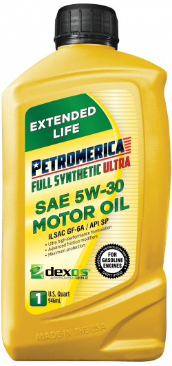Petromerica 5W-30 dexos1TM GEN 2 Full Synthetic ULTRA Motor Oil