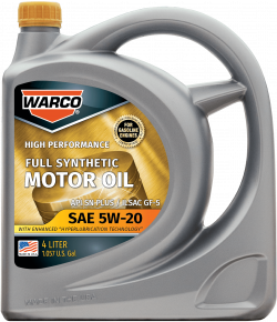 WARCO 5W-20 Full Synthetic Motor Oil