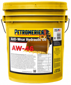 Petromerica AW-46 Anti Wear Hydraulic Oil