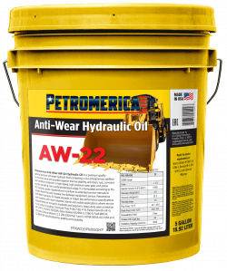 Petromerica AW-22 Anti Wear Hydraulic Oil