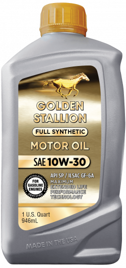 Golden Stallion Full Synthetic SAE 10W-30 Motor Oil
