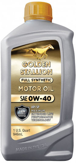 Golden Stallion Full Synthetic SAE 0W-40 Motor Oil