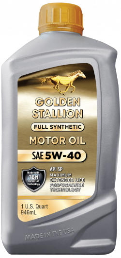 Golden Stallion Full Synthetic SAE 5W-40 Motor Oil