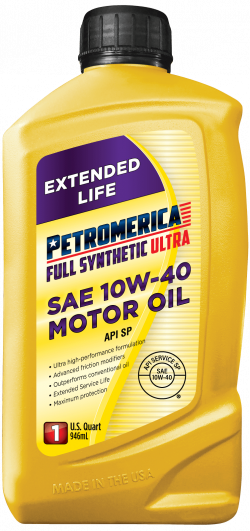 Petromerica 10W-40 Full Synthetic ULTRA Motor Oil