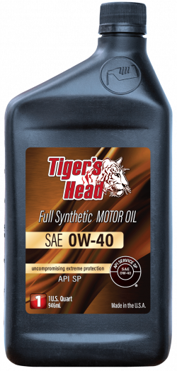 Tiger's 0W-40 Head Full Synthetic Motor Oil