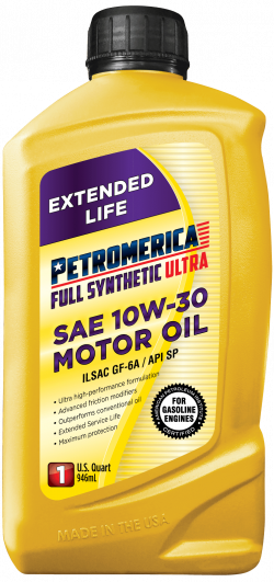 Petromerica 10W-30 Full Synthetic ULTRA Motor Oil