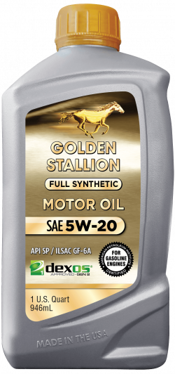 Golden Stallion Full Synthetic Dexos SAE 5W-20 Motor Oil