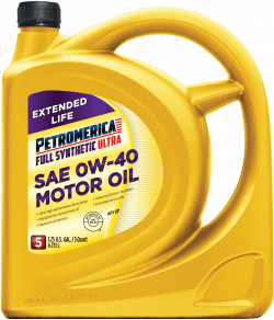 Petromerica 0W-40 Full Synthetic ULTRA Motor Oil