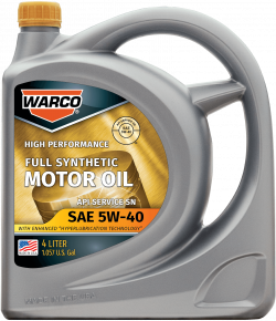 WARCO 5W-40 Full Synthetic Motor Oil