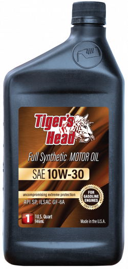 Tiger's 10W-30 Head Full Synthetic Motor Oil