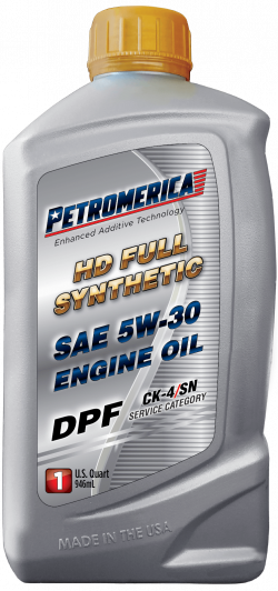 Petromerica 5W-30 HD Full Synthetic DPF Engine Oil