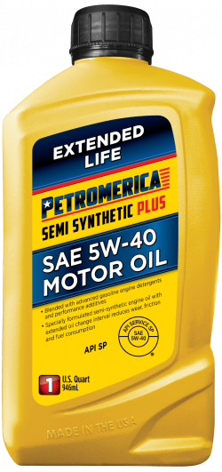 Petromerica 5W-40 Semi Synthetic PLUS Motor Oil