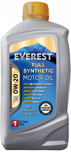 Everest 0W-20 Full Synthetic Motor Oil