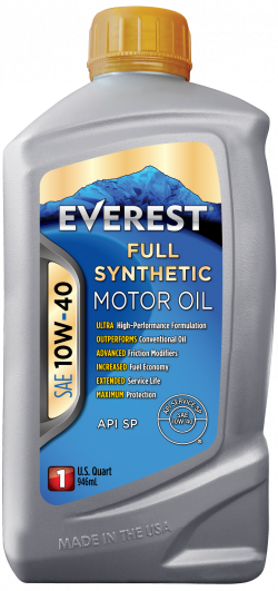 EVEREST 10W-40 Full Synthetic Motor Oil