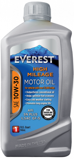 Everest 10W-30 High Mileage Synthetic Blend Motor Oil