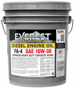 Everest Synthetic Blend HD SAE 10W-30 FA-4 Engine Oil