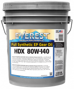 Everest 80W-140 Full Synthetic GL-5 GEAR OIL