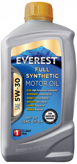 Everest 5W-30 Full Synthetic Motor Oil