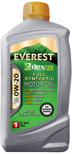 Everest 0W-20 Full Synthetic Dexos Motor Oil